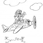 avion-coloriage
