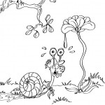escargot-coloriage